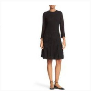kate spade shimmer knit fit & flare dress s nwot